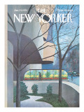 The New Yorker Cover - January 24, 1970 Regular Giclee Print by Charles E. Martin