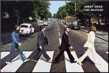 The Beatles Affiche montée sur bois