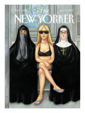 The New Yorker Cover - July 30, 2007 Regular Giclee Print by Anita Kunz