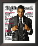 Jay-Z, Rolling Stone no. 1040, November 2007 Framed Photographic Print