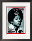 Michael Jackson, Rolling Stone no. 81, April 1971 Framed Photographic Print by Henry Diltz