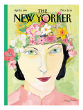 The New Yorker Cover - April 8, 1996 Regular Giclee Print by Maira Kalman