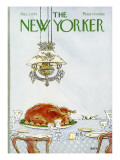 The New Yorker Cover - December 1, 1975 Regular Giclee Print by George Booth