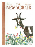 The New Yorker Cover - May 13, 1967 Premium Giclee Print by Warren Miller