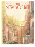 The New Yorker Cover - September 12, 1988 Premium Giclee Print by Jean-Jacques Semp&#233;