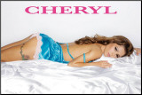 Girls Aloud - Cheryl Mounted Print