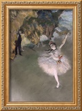 The Star, or Dancer on the Stage, circa 1876-77 Framed Giclee Print by Edgar Degas