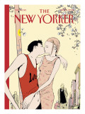 The New Yorker Cover - May 6, 2002 Premium Giclee Print by Istvan Banyai