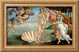 The Birth of Venus, c.1485 Framed Giclee Print by Sandro Botticelli