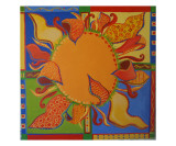 Sunburst Premium Giclee Print by Laura Pascal