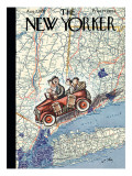 The New Yorker Cover - August 7, 1937 Regular Giclee Print by William Steig