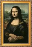 Mona Lisa, ca. 1507 Gerahmter Giclée-Druck von  Leonardo da Vinci