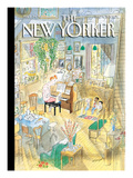 The New Yorker Cover - December 4, 2006 Premium Giclee Print by Jean-Jacques Sempé