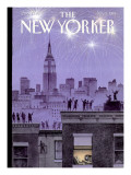The New Yorker Cover - July 5, 1999 Premium Giclee Print by Harry Bliss