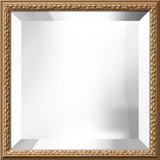 Biltmore Gold Square Mirror Wall Mirror