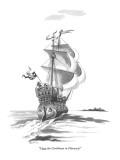 """I love the Caribbean in February!"" - New Yorker Cartoon Premium Giclee Print by Eldon Dedini"