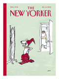 The New Yorker Cover - December 15, 2003 Regular Giclee Print by George Booth