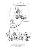 """I realize that those of you who are planning to go into psychiatry may fi…"" - New Yorker Cartoon Premium Giclee Print by Ed Fisher"