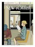 The New Yorker Cover - November 8, 2004 Regular Giclee Print by Adrian Tomine