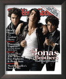 Jonas Brothers, Rolling Stone no. 1058, July 2008 Framed Photographic Print by Max Vadukul