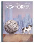 The New Yorker Cover - March 22, 1993 Premium Giclee Print by Gürbüz Dogan Eksioglu