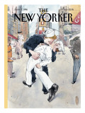 The New Yorker Cover - June 17, 1996 Regular Giclee Print by Barry Blitt