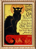 Reopening of the Chat Noir Cabaret, 1896 Framed Giclee Print by Théophile Alexandre Steinlen