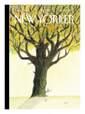 The New Yorker Cover - October 15, 2007 Premium Giclee Print by Jean-Jacques Sempé