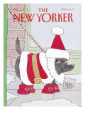 The New Yorker Cover - December 9, 1991 Premium Giclee Print by Gahan Wilson