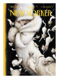 The New Yorker Cover - February 2, 2004 Regular Giclee Print by Ana Juan