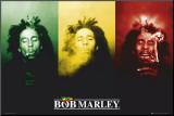 Bob Marley Mounted Print