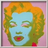 Marilyn Monroe, 1967 (pale pink) Poster by Andy Warhol