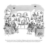 """I see by the current issue of 'Lab News,' Ridgeway, that you've been work…"" - New Yorker Cartoon Premium Giclee Print by Everett Opie"