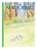 The New Yorker Cover - May 18, 1998 Premium Giclee Print by Jean-Jacques Semp&#233;