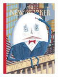 The New Yorker Cover - February 4, 2008 Regular Giclee Print by Kathy Osborn