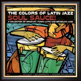 The Colors of Latin Jazz Soul Sauce! Framed Photographic Print