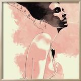 Afrodita Framed Giclee Print by Manuel Rebollo