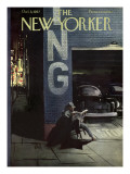 The New Yorker Cover - October 5, 1957 Premium Giclee Print by Arthur Getz