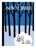 The New Yorker Cover - December 22, 2003 Regular Giclee Print by Philippe Petit-Roulet