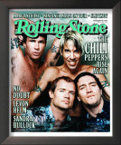 Red Hot Chili Peppers , Rolling Stone no. 839, April 2000 Framed Photographic Print by Martin Schoeller
