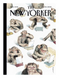The New Yorker Cover - December 23, 2002 Premium Giclee Print by Barry Blitt
