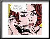 Ohhh...Alright..., 1964 Poster by Roy Lichtenstein