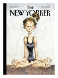 The New Yorker Cover - December 8, 2003 Premium Giclee Print by Peter de Sève