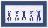 Sans titre : antropom. with male and female figure Posters par Yves Klein