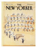The New Yorker Cover - March 12, 1984 Regular Giclee Print by Jean-Jacques Sempé