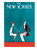 The New Yorker Cover - August 8, 1925 Premium Giclee Print by Julian de Miskey
