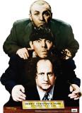 Three Stooges - Dewey,Chetum&Howe Cardboard Cutouts