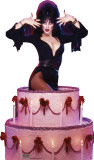 Elvira Cake - Talking Cardboard Cutouts