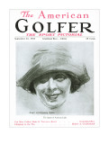 The American Golfer September 22, 1923 Stretched Canvas Print by James Montgomery Flagg
