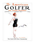The American Golfer July 28, 1923 Stretched Canvas Print by James Montgomery Flagg